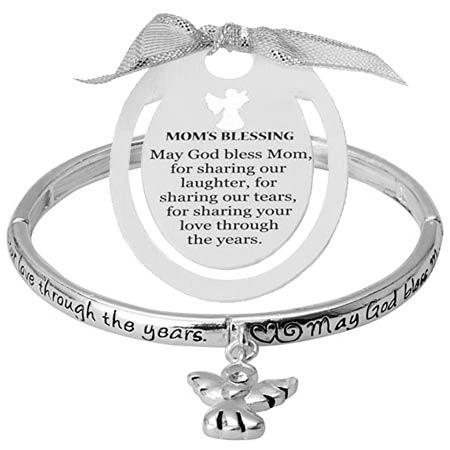Mom's Blessing Bracelet and Bookmark