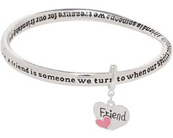 Friends Bracelet with Heart Charm