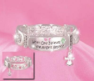 When One Believes the Angels Rejoice Bracelet