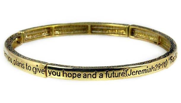 Jeremiah 29.11 Stretch Bracelet