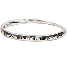 Serenity Prayer Twisted Mobius Bracelets