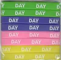 Have a Blessed Day Silicone Bracelets (Pkg of 8)