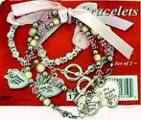 Mother & Daughter Angel Bracelet Gift