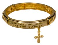 You Shall Love The Lord Bracelet