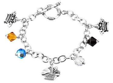 The Lord's Prayer Charm Bracelet Sterling Silver