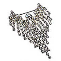 Angel Wings Brooch Pin Medium