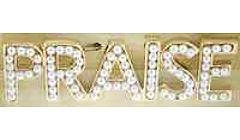 Large Praise Pearl Brooch