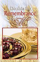 Communion Plate Church Bulletin (Pkg of 100)