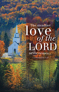 Love of the Lord Church Bulletin (Pkg of 100)
