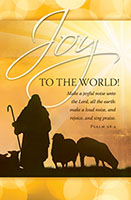 Joy to the World Bulletin (Pkg of 100)