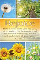 Summer Make A Joyful Noise Bulletin Cover (Pkg of 100)