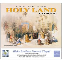 2019 Holy Land Catholic Calendars