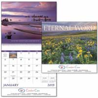 2018 Eternal Word Christian Spiral Calendars with Pre-Planning Sheet
