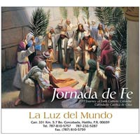 2018 Bilingual Journey of Faith Catholic Calendars