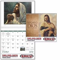 2018 Spanish God's Gift Catholic Calendar with Pre-planning