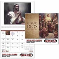 2019 Spanish God's Gift Catholic Calendar with Pre-planning