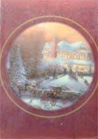 Kinkade's Victorian Xmas Candle