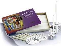 125 pack Church Candlelight Service Set