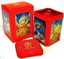 Vatican Angel Wick N Tin Candles Set