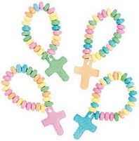 Candy Cross Stretch Bracelets (Pkg of 12)