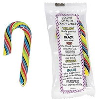 Colors of Faith Mini Candy Canes
