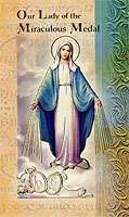 Our Lady of the Miraculous Medal Lives of The Saints Card