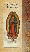 Our Lady of Guadalupe Holy Cards  4 Pages