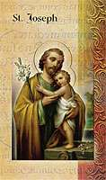 St. Joseph Lives of The Saints Card