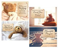 Love Bears, Get Well Greeting Cards (Box of 12)