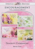 Fragrant Expressions - 12 Boxed Encouragement Cards