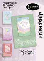 Friendship Boxed Cards With Bible Verse