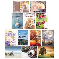 All Occasion Secret Sister Greeting Cards (Box of 12)