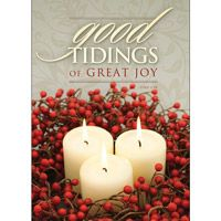 Good Tidings of Great Joy Christmas Cards (Box of 12)