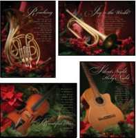 Song in the Air Christmas Cards