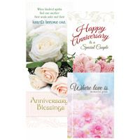 Anniversary Blessing Greeting Cards (Box of 12)
