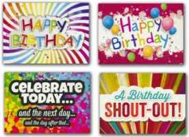Teen Celebrate! - Birthday  (Box of 12)