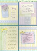 Welcome Baby Cards - 12 Boxed  Cards