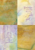 Watercolor Encouragement Cards - Box of 12