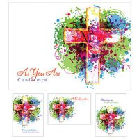 Confirmation Boxed Cards -12 Pack