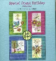 Special Friends Birthday 12 Boxed Cards