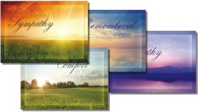 Beyond the Sunset Sympathy Cards (Box of 12)