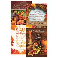 12 Thanksgiving Give Thanks Greeting Cards