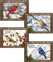 Christmas Nature Sings Greeting Cards