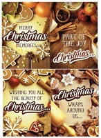 Christmas Sugar & Spice Greeting Cards