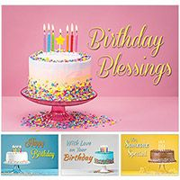 You Take the Cake Birthday Cards (Box of 12)