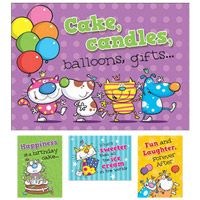 Birthday Buddies Greeting Cards (Box of 12)