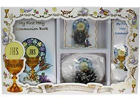 Deluxe First Communion Gift Set for Boys