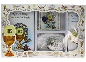 Deluxe First Communion Gift Set for Girls