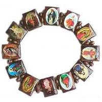 Catholic Saints Pictures Bracelet