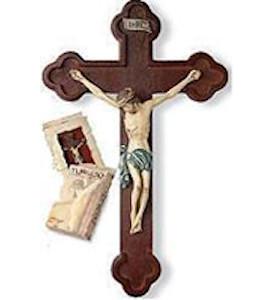 Budded Crucifix Resin Cross